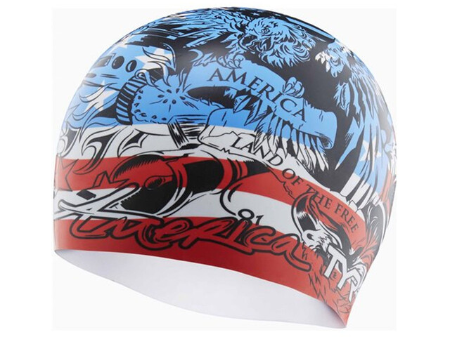 TYR Home of the Brave badmuts rood/blauw